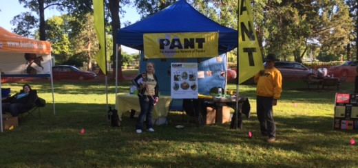 Booth at Paws in the Park